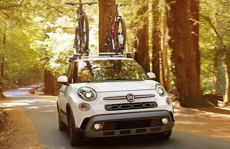 front view of white 2019 fiat 500l