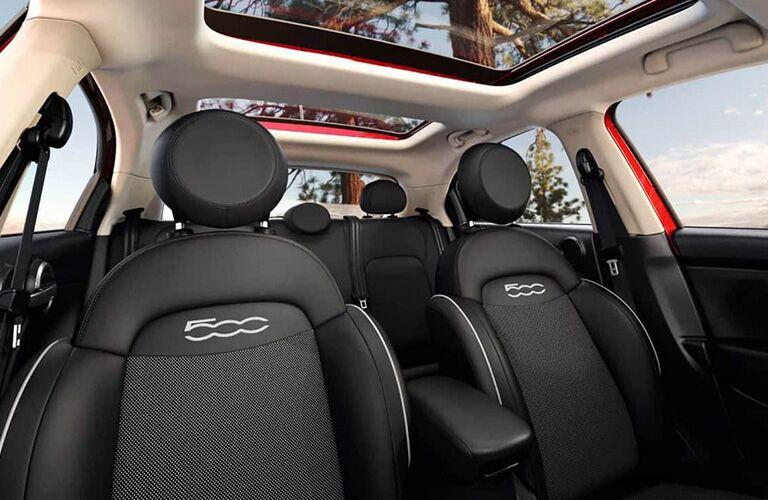 2019 FIAT 500X seats