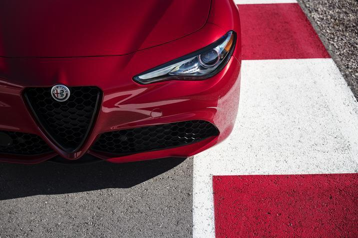 2019 Alfa Romeo Giulia front fascia