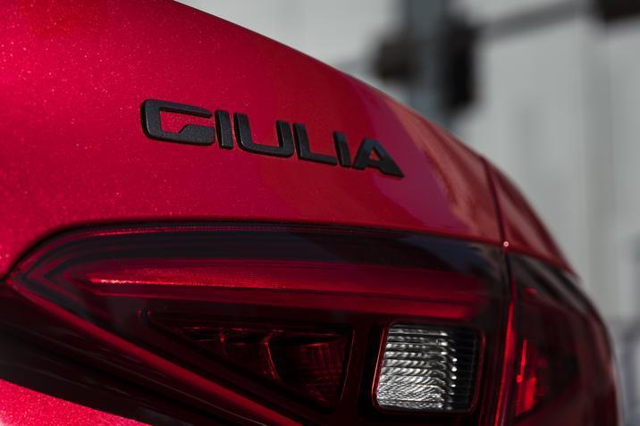 2019 Alfa Romeo Giulia rear badging