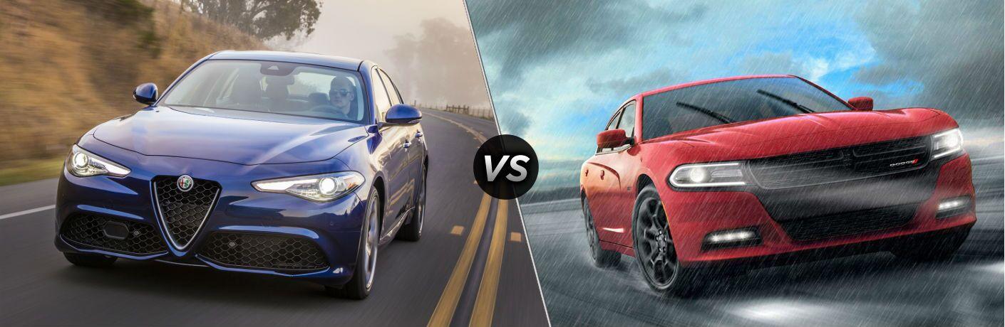 2019 Alfa Romeo Giulia vs 2019 Dodge Charger