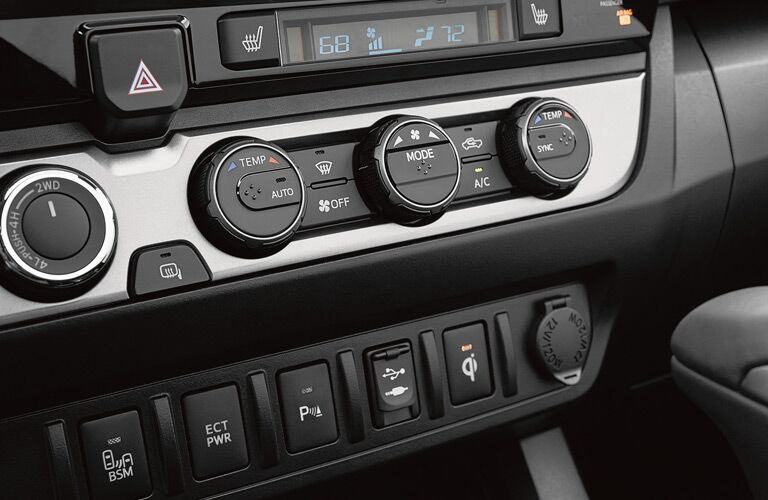 Dashboard Instrumentation in the 2017 Toyota Tacoma