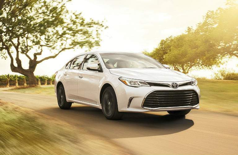 White 2020 Toyota Avalon