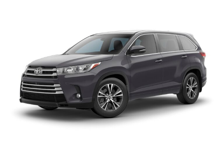 2018 Toyota Highlander LE Plus from the front