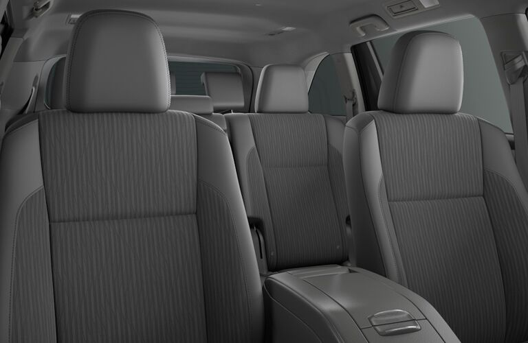 Seating in 2018 Toyota Highlander