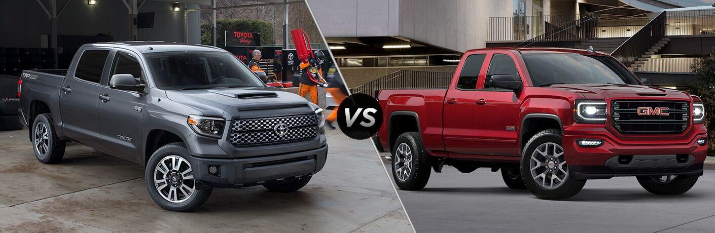 2018 Toyota Tundra vs 2018 GMC Sierra 1500
