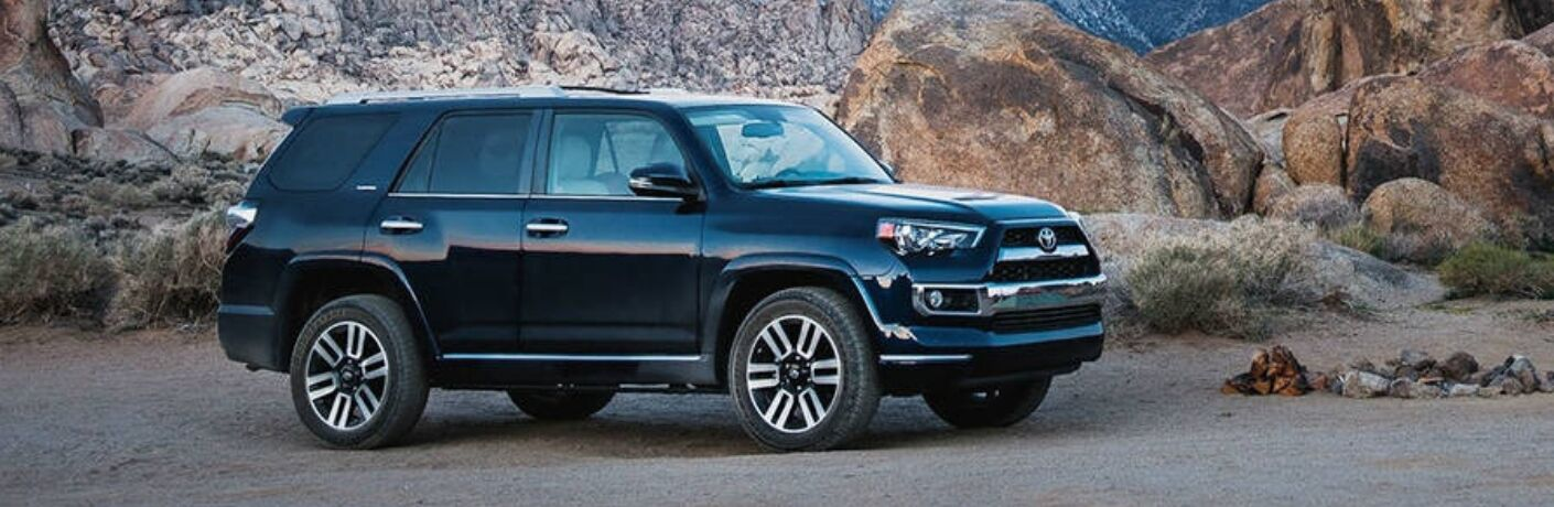 Side View of 2019 Toyota 4Runner Limited Nightshade Edition