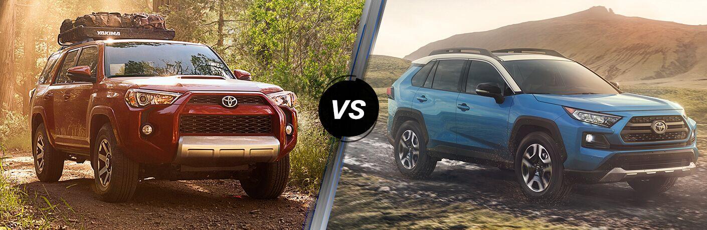 2019 Toyota 4Runner vs RAV4