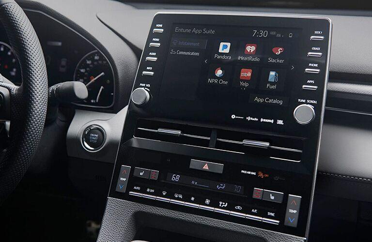 2019 Toyota Avalon EnTune touchscreen