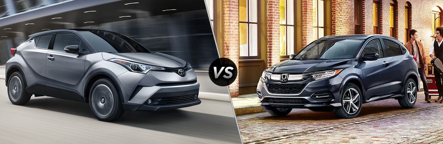 2019 Toyota C-HR vs 2018 Honda HR-V