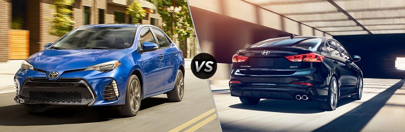 2019 Toyota Corolla vs 2018 Hyundai Elantra