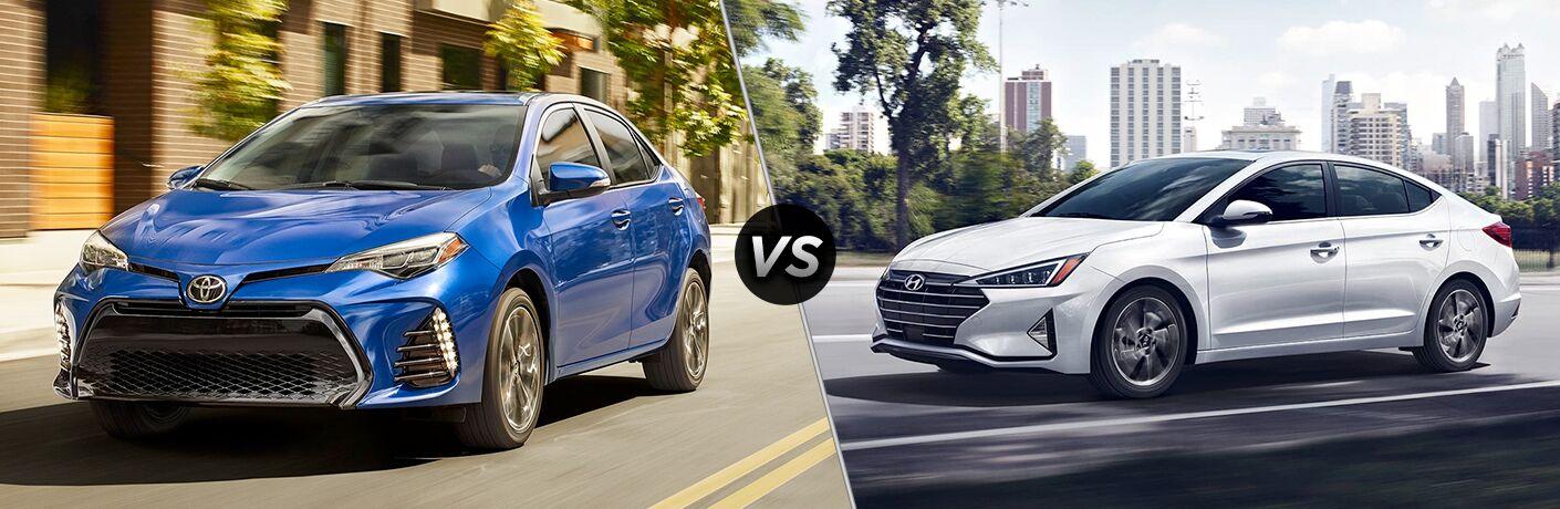 2019 Toyota Corolla vs 2019 Hyundai Elantra