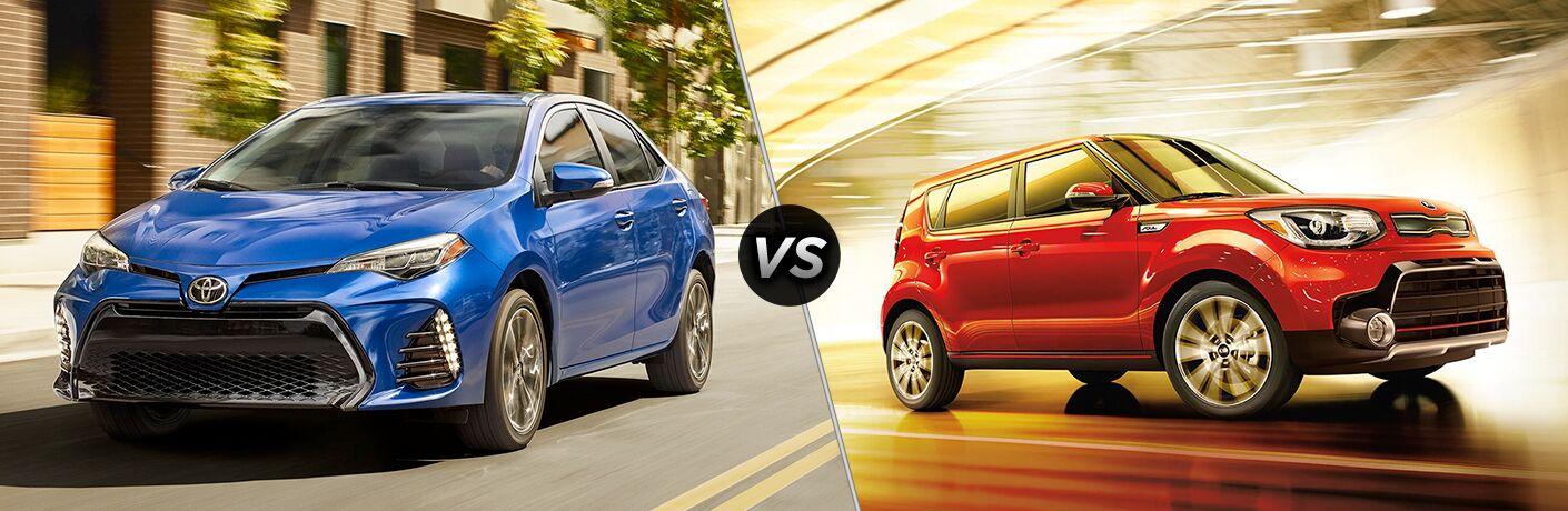 2019 Toyota Corolla vs 2019 Kia Soul