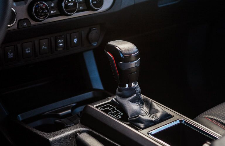 Center gear shifter of 2019 Toyota Tacoma TRD Pro