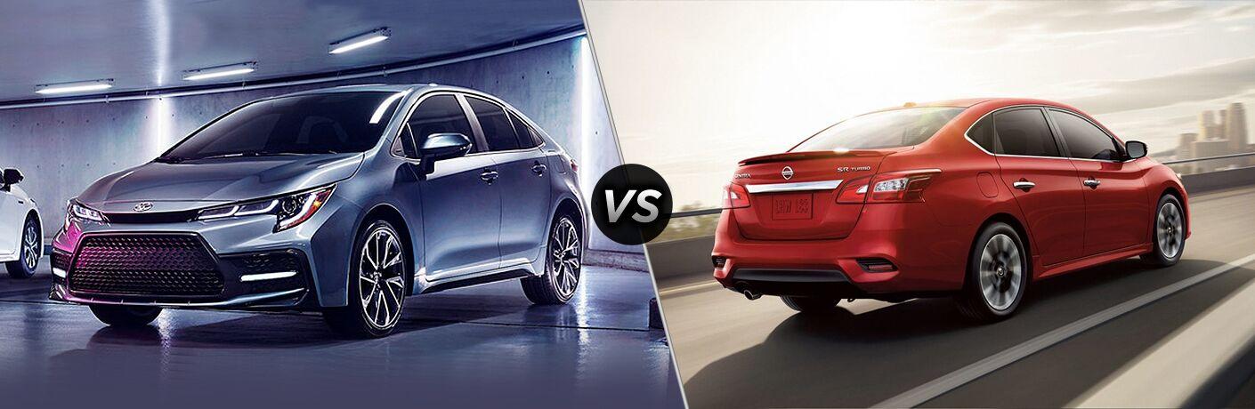 2020 Toyota Corolla vs 2019 Nissan Sentra
