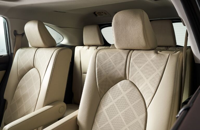 Front seating 2020 Toyota Highlander