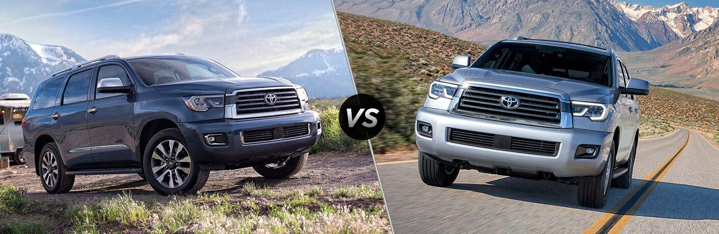 2020 Toyota Sequoia vs 2019 Toyota Sequoia