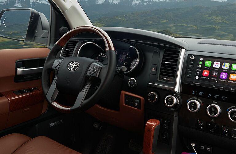 2020 Toyota Sequoia Steering Wheel