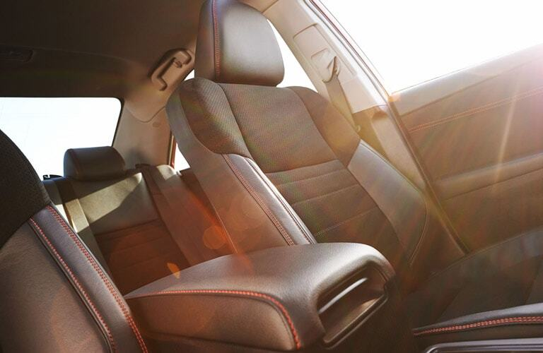 Seating in 2017 Toyota Camry