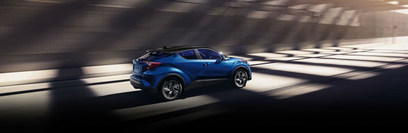 A right profile photo of the 2020 Toyota C-HR.