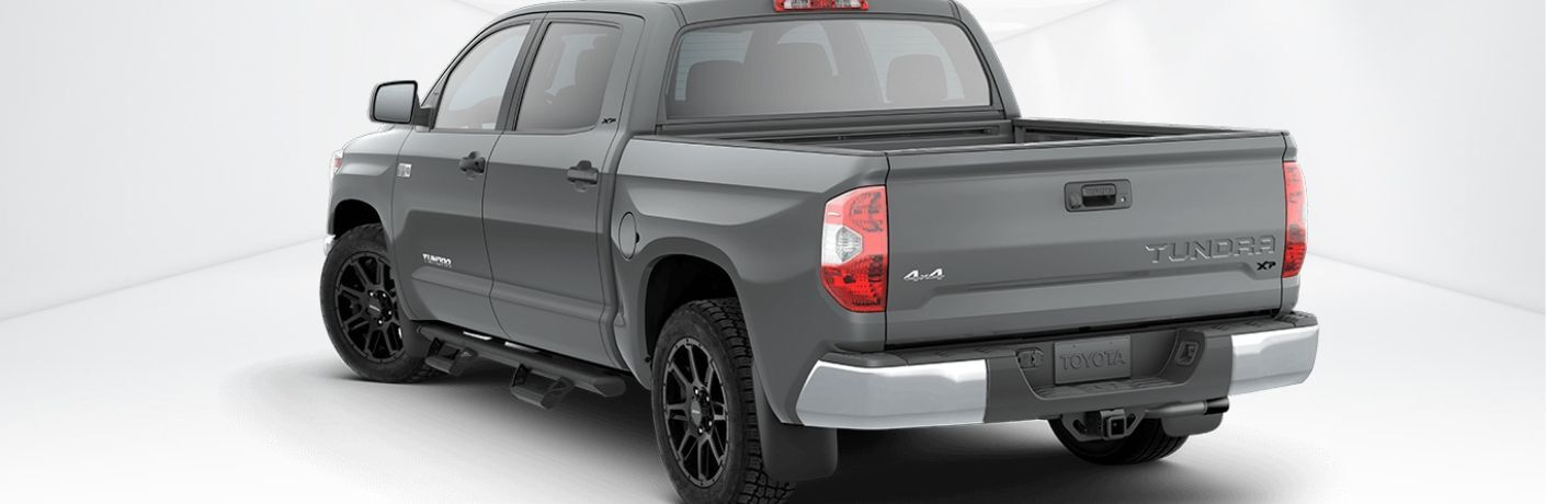 Grey Toyota Tundra with XP Gunner Package