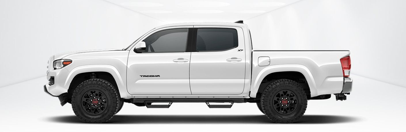 White Toyota Tundra with XP Predator Package