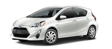 Rent a Toyota Prius c in