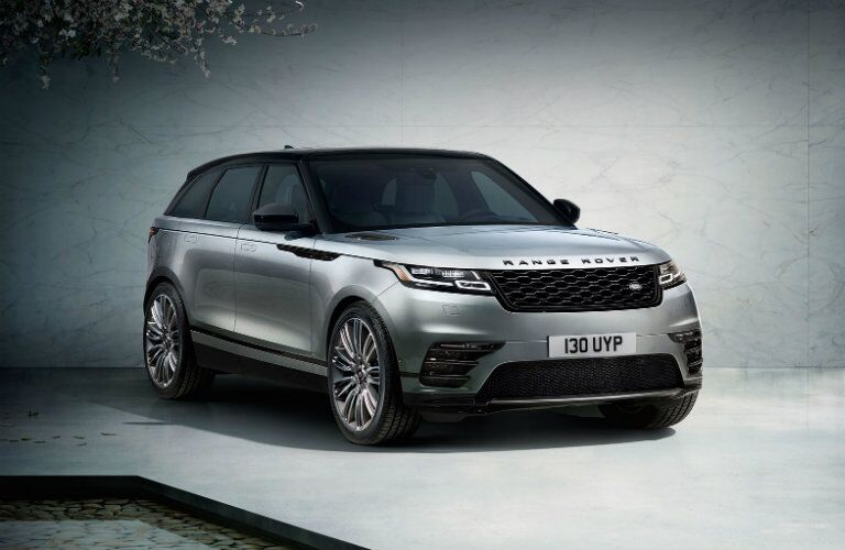Front View of Grey 2018 Land Rover Range Rover Velar