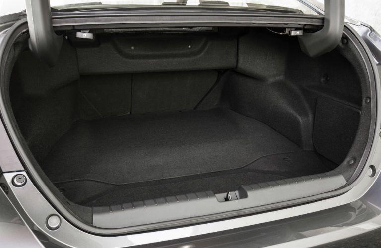 open trunk of a 2018 Honda Clarity Plug-In Hybrid
