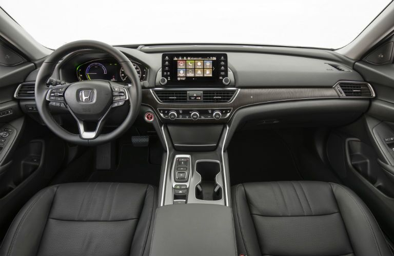 front interior of a 2019 Honda Accord Hybrid