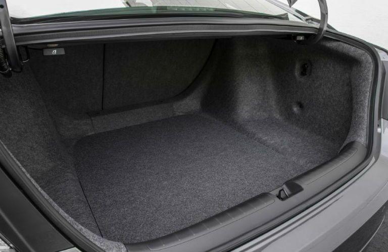empty trunk of a 2020 Honda Accord