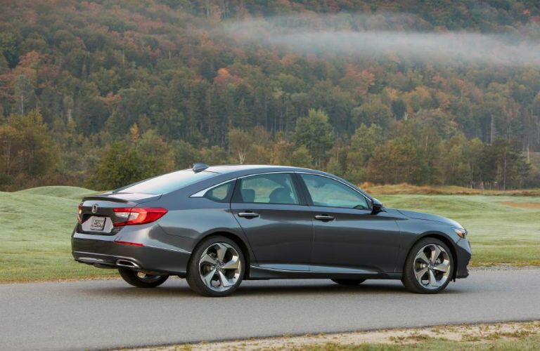 side view of a gray 2020 Honda Accord