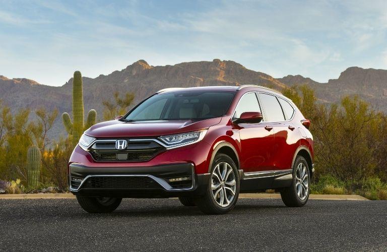 2021 Honda CR-V Hybrid in desert