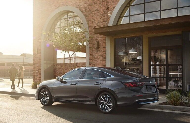 2022 Honda Insight parked by store