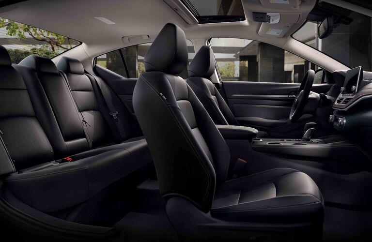 full interior of a 2020 Nissan Altima