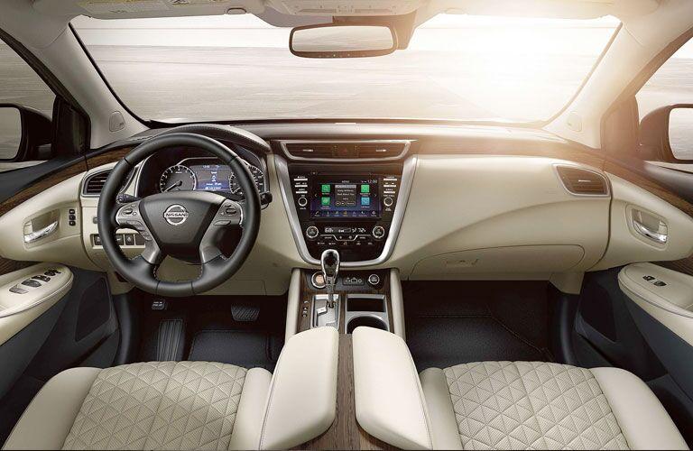 Nissan Murano front interior cabin