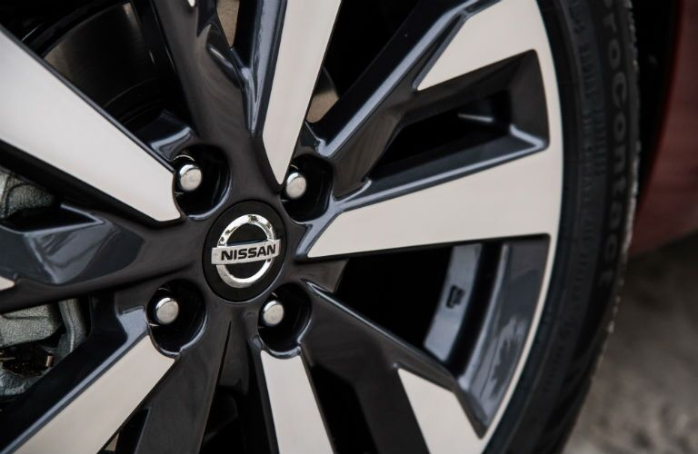wheel on a 2020 Nissan Versa