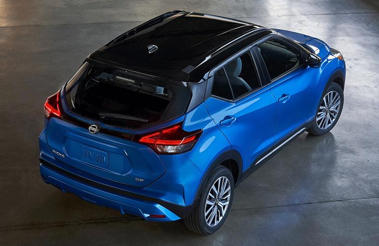 2021 Nissan Kicks from exterior rear