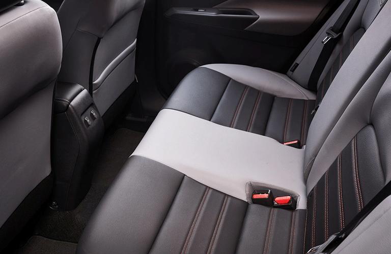 2021 Nissan Kicks rear seats