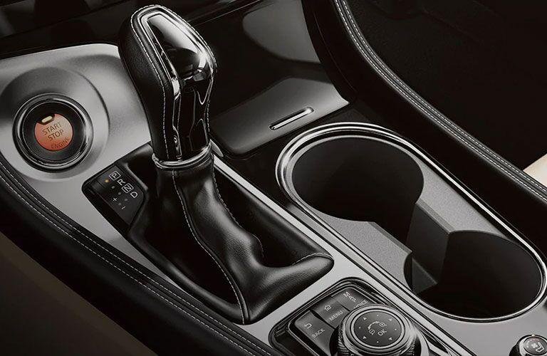 Gear shifter inside 2021 Nissan Maxima