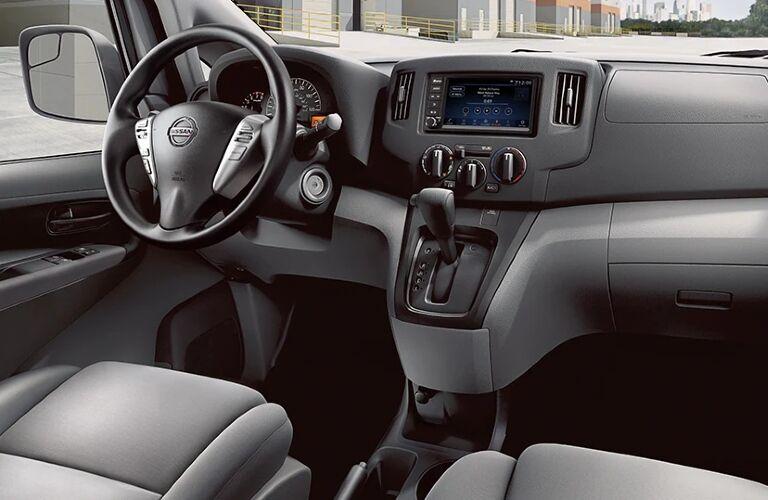 Cockpit of 2021 Nissan NV200