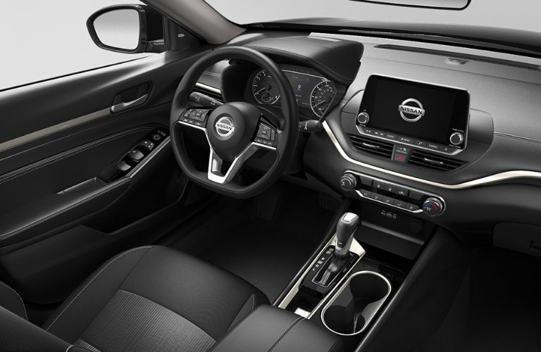 2021 Nissan Altima driver seat and steering