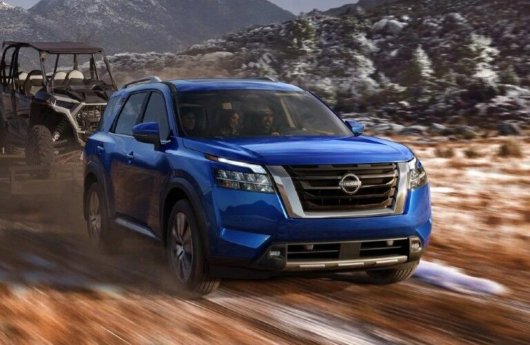2022 Nissan Pathfinder towing
