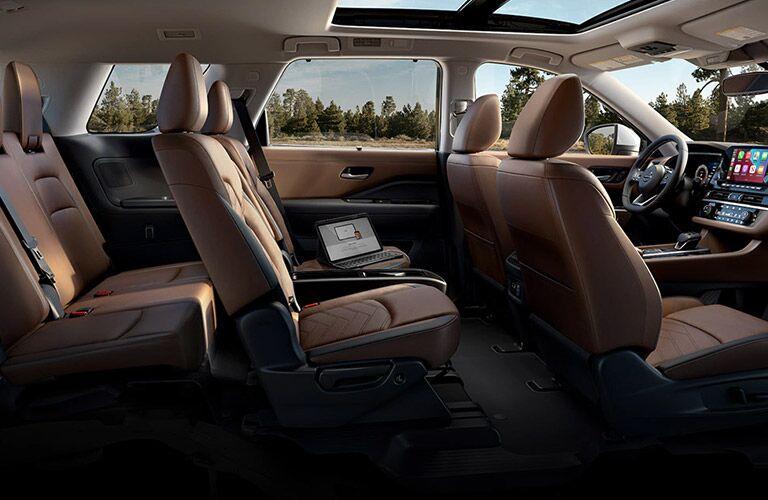 2022 Nissan Pathfinder seats