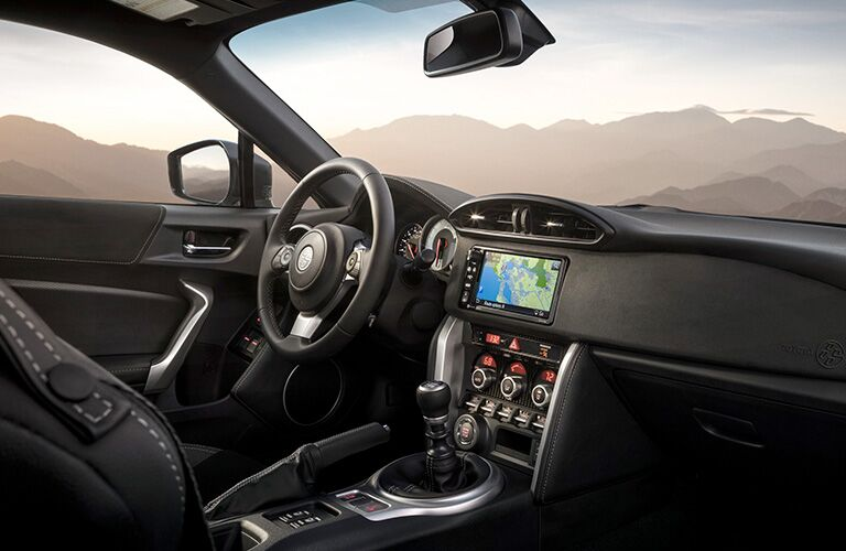 front interior of a 2019 Toyota 86