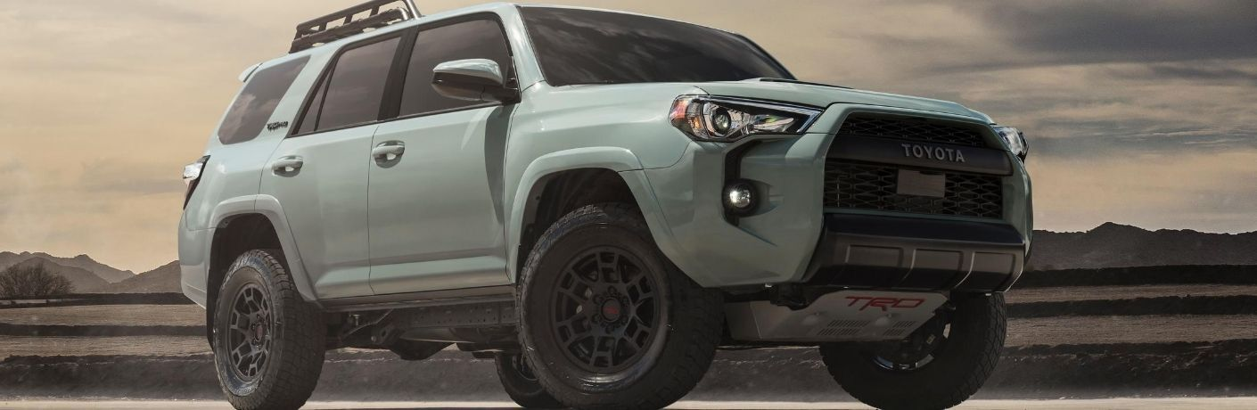 2021 Toyota 4Runner stands looking mighty in a desert