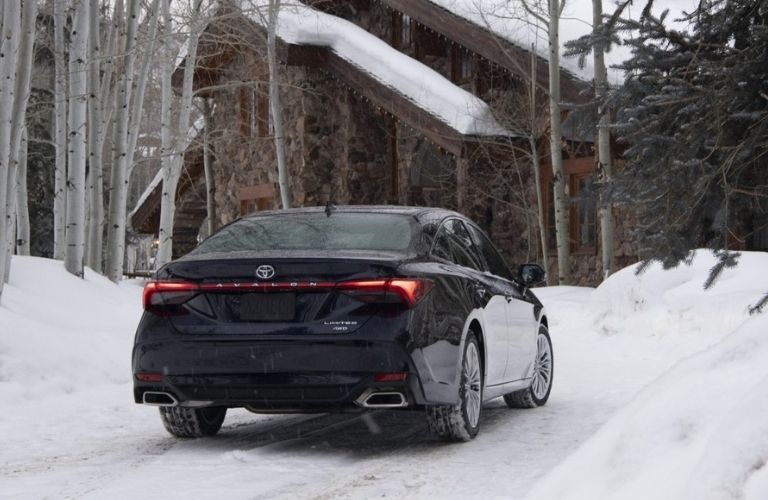 2021 Toyota Avalon rear view