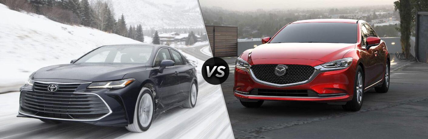 2021 Toyota Avalon vs 2021 Mazda6