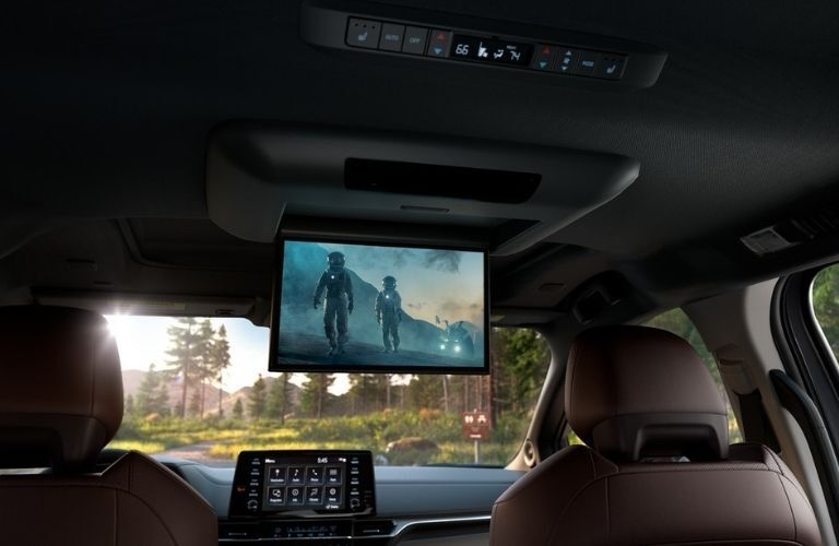 2021 Toyota Sienna with available Entertainment Package