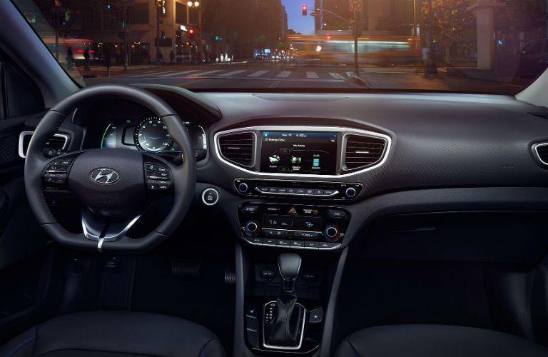 driver dash in a 2019 Hyundai Ionic Plug-In Hybrid